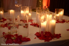 Marvelous Indian wedding table candle holders.