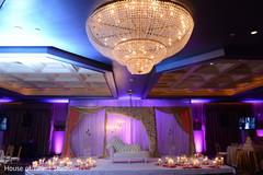 Stunning wedding stage.
