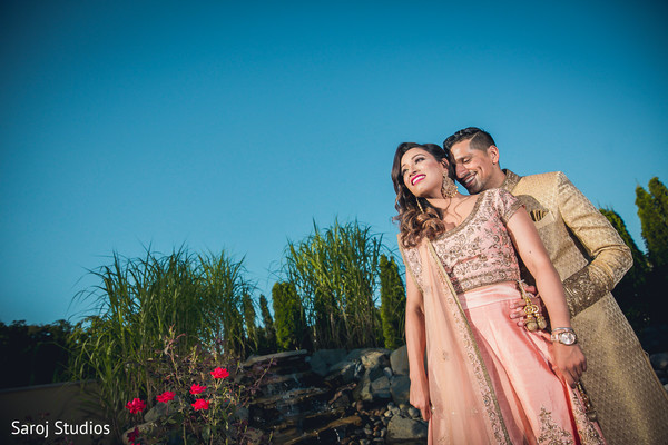 indian bride and groom,indian wedding fashion