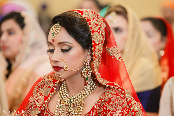 indian bride,indian wedding ceremony fashion,indian bride's jewelry