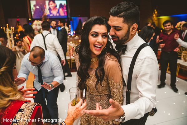 Enchanting indian bride and groom capture
