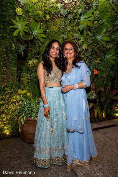 Gorgeus Indian bride with parent capture.
