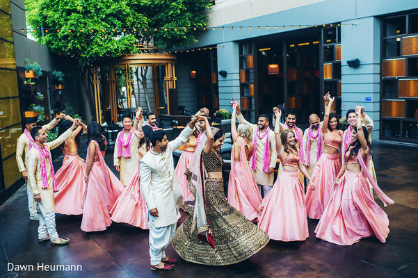 indian bride and groom,indian wedding ceremony fashion,indian bridesmaids,indian groomsmen