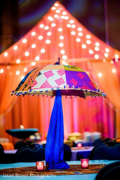 Indian wedding sangeet decor