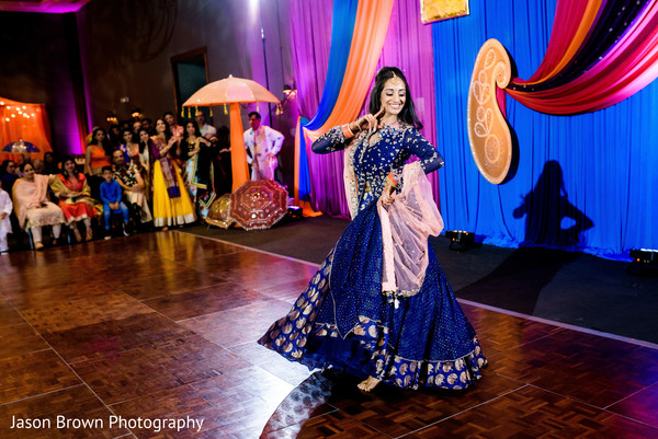 Sangeet night performance