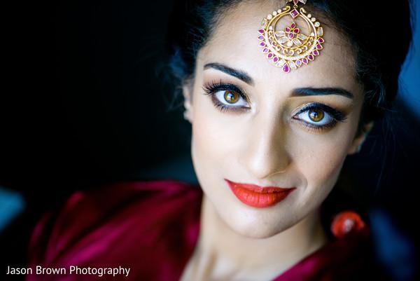 Flawless indian bridal makeup