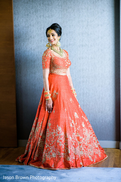 Gorgeous indian bridal style.