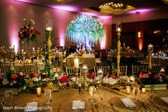 Wonderful indian wedding reception decor