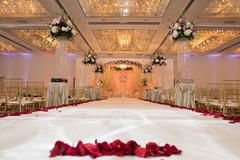Wonderful wedding aisle decor.