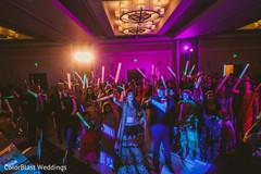Fantastic indian wedding reception party