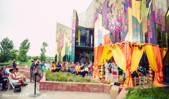 Marvelous outdoor indian wedding ceremony