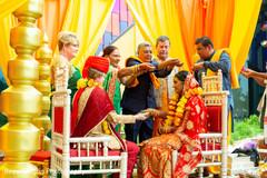 Enchanting Indian wedding ceremony.