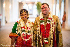 Lovely indian newlyweds