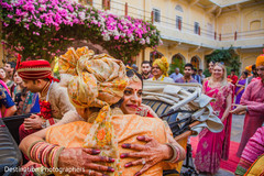 Indian bride's vidaai capture
