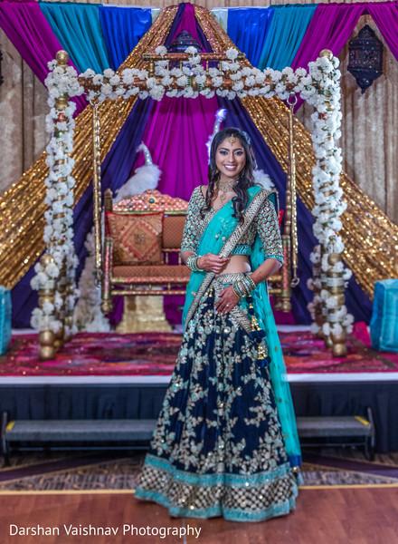 Fabulous indian bride lengha