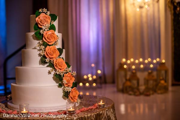 Perfect indian wedding cake