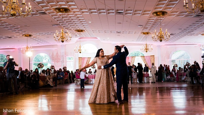 indian wedding,first dance,reception fashion