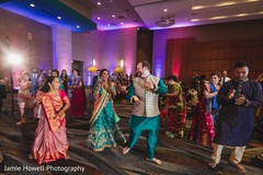 Marvelous Indian sangeet dance performance capture.
