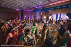 Magnificent Indian sangeet dance play.