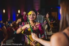 Indian garba dance celebration.