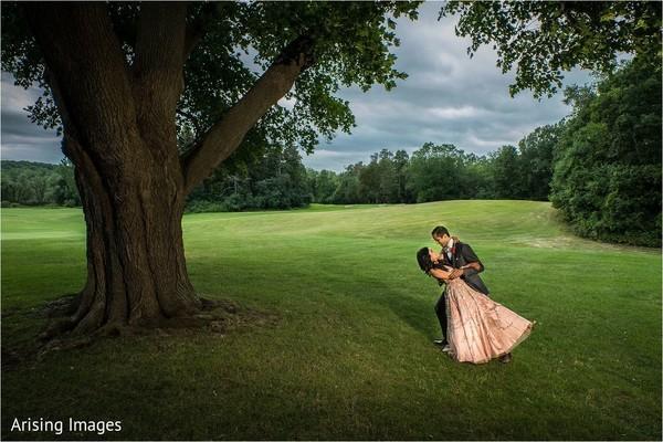 indian bride and groom,indian post-wedding fashion,indian wedding reception fashion