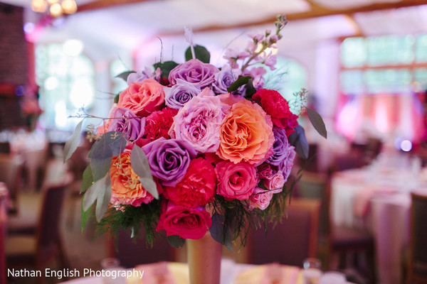 Graceful floral decor