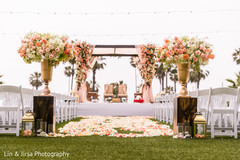 Spectacular indian wedding stage decor