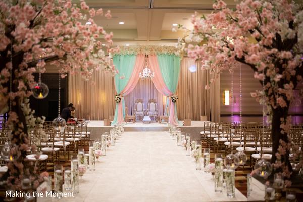 indian wedding ceremony,mandap,indian flowers,indian wedding aisle