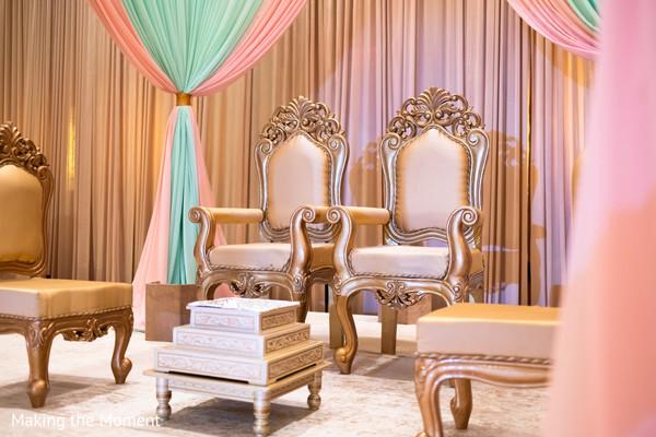 indian wedding ceremony decor,mandap,indian wedding ceremony seats