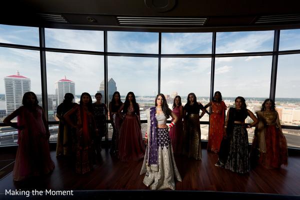 indian bride,indian bridal reception fashion,indian bridal hair and makeup,indian bridesmaids