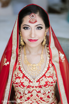 Indian bride ready to get married