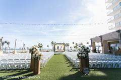 Magnificent outdoor indian wedding set up