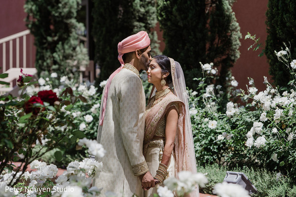indian couple,first look,indian wedding