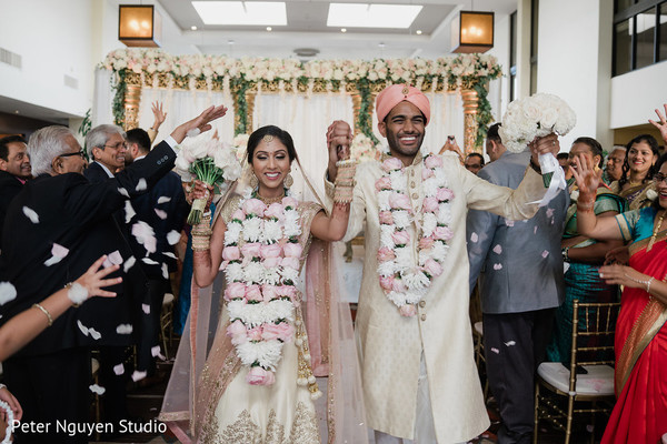 indian wedding,indian newlyweds,indian bride fashion