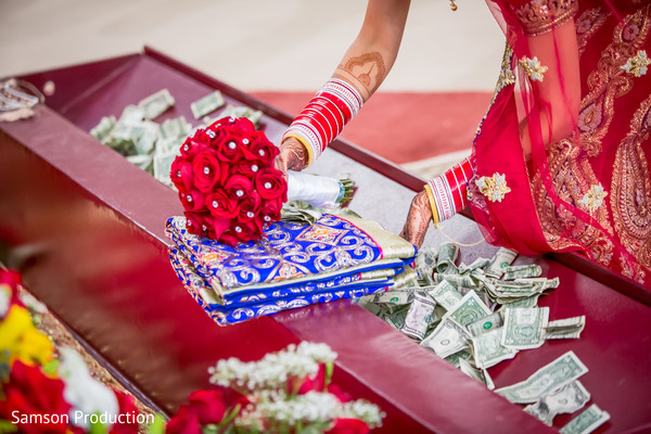 Colorful details of the Indian wedding