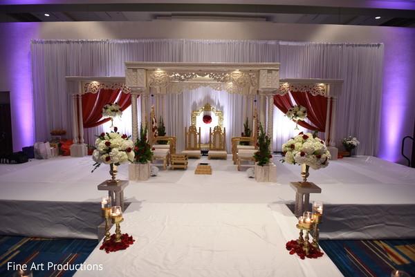 mandap,indian wedding ceremony,indian ceremony decor,flowers