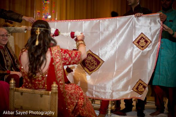 antarpat,indian wedding,colors,rituals