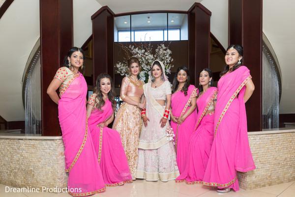 bridesmaids,indian wedding,photo shoot,colorful