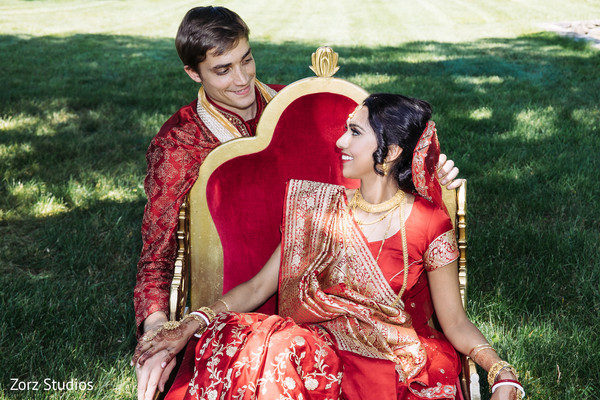 indian bride and groom,indian wedding ceremony fashion,indian bridal hair and makeup