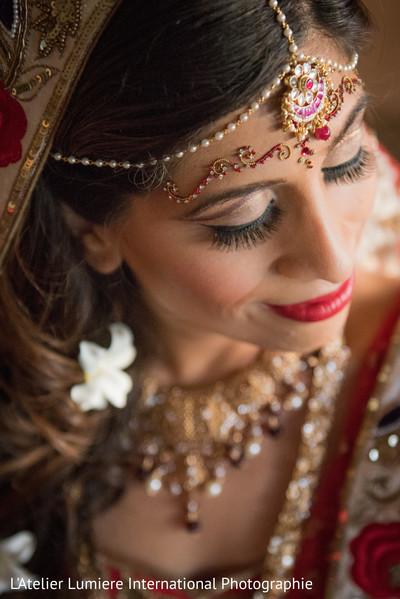 Magnificent indian bridal makeup.