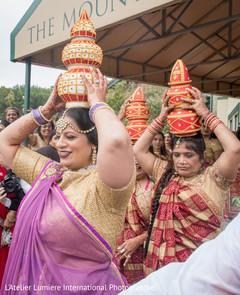 Wonderful Indian wedding baraat ladies.