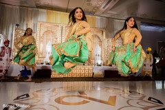 Stunning Indian wedding Bollywood dance performance.