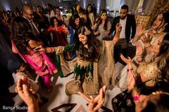 Maharani dancing at reception party.