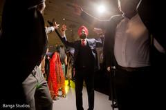 Indian guests rocking the dance floor.