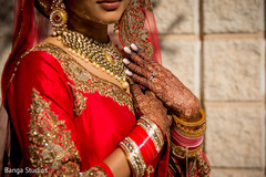 Magnificent Indian bridal  ceremony fashion.