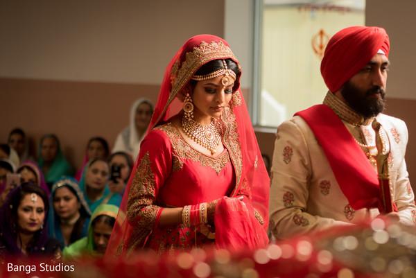 indian bride and groom,indian wedding ceremony,indian wedding fashion
