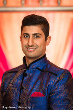 Indian groom sangeet fashion