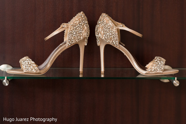 Fabulous indian bride heels