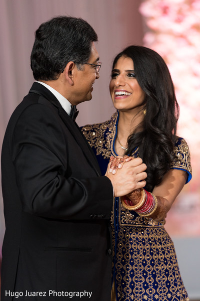 Maharani dancing with her father