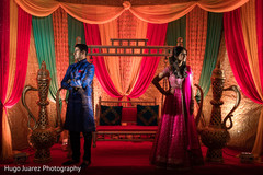 Sangeet night celebration portrait